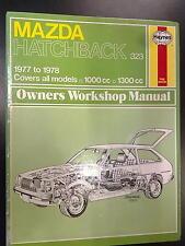 Mazda Hatchback 323 1977 - 1978 1000 en 1300cc, Owners Workshop Manual