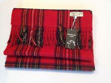 Tartan Clan Scarf Royal Stewart 100% Pure Wool