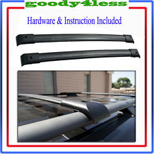 03 04 05 06 07 08 Honda Pilot OE Style Roof Rack Cross Bars Set Luggage Carrier