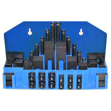 """58 PC CLAMPING KIT FOR 9/16"""" and 14MM T-SLOTS FOR MILLING MACHINE"""