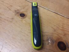 "Philips Norelco OneBlade hybrid electric trimmer, QP2520/70 Green ""Shaver Only"""