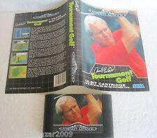 ARNOLD PALMER TOURNAMENT GOLF (1989) SEGA MEGA DRIVE SYSTEM VINTAGE