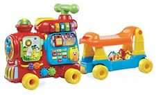 VTech Learning Toy Toddler Sit-to-Stand Ultimate Alphabet Train Ride On