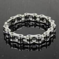 Classical Motorcycle Bike Chain Design Stainless Steel Bracelet Gift