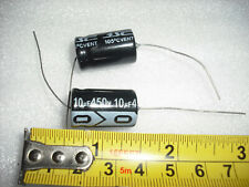 10µF 10uf 10 uf 10mfd mfd 450V Axial Polarized Electrolytic Capacitor cap filter