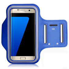 Sport Armband Case Cover Blue for Acer, Nokia, Alcatel, HTC, LG, Huawei, Wiko