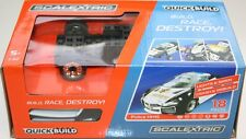 Scalextric C3709 Quick Build Police Car Black White - HH15 lights siren NEW