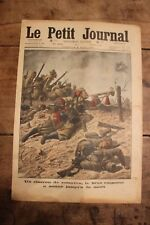 Petit journal dibujada nº1285 1915 Clarín de Zouaves General Austríaco Lasso