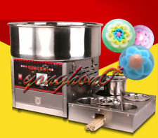 1000W Commercial Upgrade Section Electric Automatic Cotton Candy Machine 220V