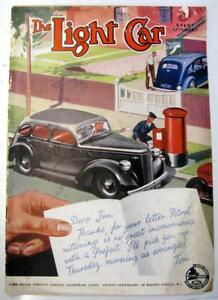 The LIGHT CAR 7 Oct 1939 Ford Eight trial Original Motoring Car Magazine