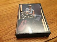 JIM CROCE BEST OF GREATEST HITS BAD BAD LEROY BROWN, TIME IN A BOTTLE CASSETTE