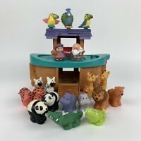 Fisher Price Little People Noah's Ark Boat Playset - Mixed Animals & People Mix