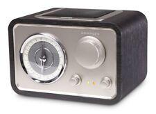 Crosley Solo AM/FM Radio Retro Styled Compact Stereo MP3 Plug-In CR3003A-BK