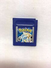 Pokemon Blue Version Gameboy Color Cartridge Tested & Works