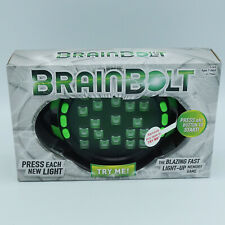 New! BrainBolt: The Blazing Fast  Light-Up Memory Game  (4354)