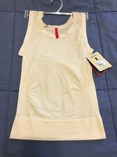NEW SPANX ON TOP & IN CONTROL VANILLA CLASSIC 983 TANK KNIT TOP SIZE Small TIGHT