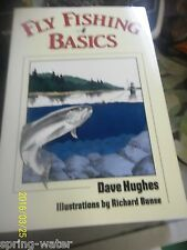 Book-Fly Fishing Basics by Dave Hughes 213pgs. <><