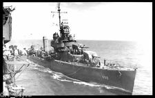 USS Laffey DD-459 postcard US Navy Destroyer