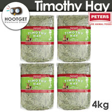 4kg Peters Timothy Premium Grass Hay Rabbit Guinea Pig Food