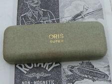 Oris 50s Vintage Hombres Reloj Suizo Raro Caja Super descarga Chronoris doble colector