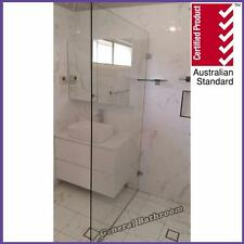 800*2000mm 10mm Frameless Safety Glass Shower Panel with Shelf-*free quotation*