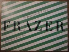 Frazer AUTO ORIG 1951 USA Mkt opuscolo vendite-MANHATTAN Berlina Kaiser
