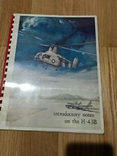 vintage original Kaman Aircraft H-43B introductory notes