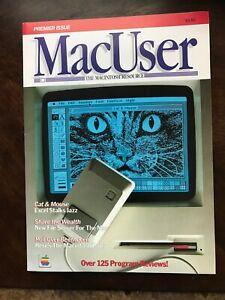 MacUser Magazine Premier Issue October 1985