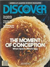 DISCOVER Magazine (Oct 1982) The Moment of Conception, Shroud of Turin  ~F655