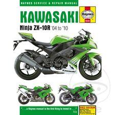 Kawasaki ZX-10R 1000 F Ninja 2010 Haynes Service Repair Manual 5542
