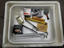 Photography Developing Trays with Lupe and extras (Fedco)