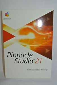 Pinnacle Studio 21 Flexible Video Editing  New - Sealed