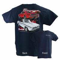 David Carey Originals Officially Licensed Plymouth Barracuda Tee shirt mens  5x