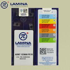 LAMINA AOMT123608PETR LT30 CARBIDE INSERTS 50pcs