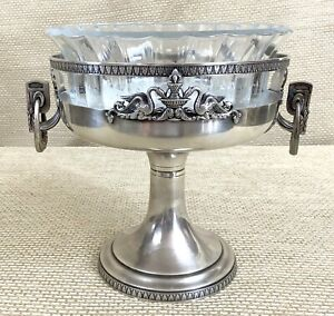 Antique Silver Plated Table Centrepiece Bowl Urn Malmaison Napoleon III Empire