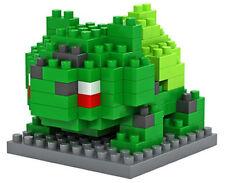 POKEMON GO LOZ BLOCK BULBASAUR mini lego building nanoblock nano block weagle