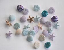 Tiny Seashell Buttons / Jesse James Dress It Up # 1777 / SM Pastel Seashells