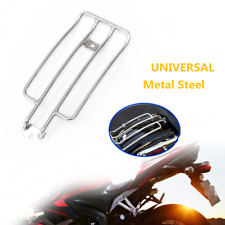 Motorcycle Chrome Solo Seat Rear Fender Luggage Rack Trim Fit For Honda Yamaha