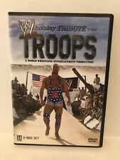 WWE - Holiday Tribute To The Troops (DVD, 2005) 2 Disc Kurt Angle