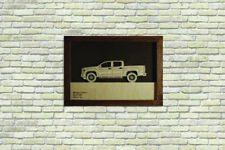 Car Wood Picture With Ford GMC Canyon II 3D Image Frame Home Office Wall Decor