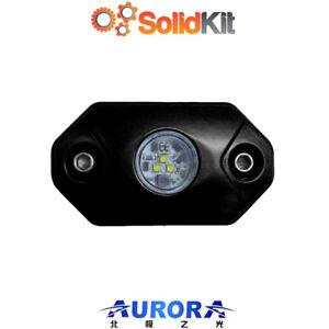 Aurora WHITE LED Rock  Multi Function Mini Light