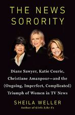 THE NEWS SORORITY* Hard Cover Book By SHEILA WELLER 481 Pages TV PERSONALITY