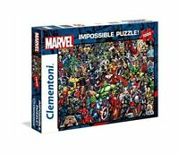 Clementoni 39411 Impossible Marvel 1000 Sturdy Cardboard Piece Jigsaw Puzzle