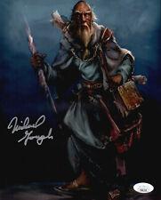 MICHAEL GOUGH Signed DIABLO 8x10 Deckard Cain Photo In Person Autograph JSA COA