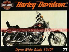 HARLEY DAVIDSON FXDWG 1340 Dyna Wide Glide Billy's Black Bike CHICA Advanting HD