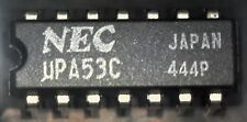 NEC UPA53C transistor darlington array 14 pin DIL