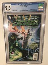 Green Lantern #20 CGC 9.8 1st Cameo Appearance Jessica Cruz 2013 DC Key!