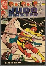 """JUDO MASTER #97 CHARLTON 1967 BOXING """"THIS ONE'S FOR POP!"""" + SARGE STEEL FN/VF"""