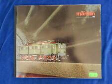 MARKLIN - TRAIN - CATALOGUE / Catalog - VINTAGE - 1986/87F - TOP !