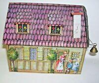 German Heinrich Haeberlein Candy House Tin Box